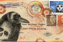 Mail-art/swap inspiration / by Cassie