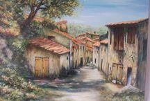Auriol,,, vieux village endormi sous le soleil de Provence *