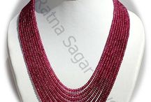 Gemstone Beads Necklace / Necklaces - an important part of women jewelry. Find a wide range of remarkable eye-catching necklaces made from AAA categorized gemstones at affordable prices at Ratna Sagar Jewels. These necklaces are developed according to the latest trends & keeping your taste. These exclusive necklaces are available online at Ratna Sagar Jewels.