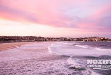 BACKPACK TO THE BEACH / Bondi beach is the best spot in Sydney, where hundreds of people throng in spring and summer to relax and rejoice. The beach is spread wide and far ready to accommodate thousands of sand and beach lovers.