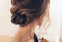 hair in bun