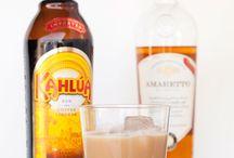 Liqueur cocktails