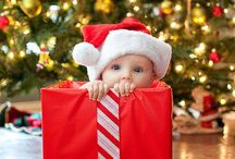 First Christmas photo ideas