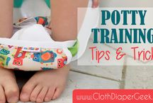 Potty Training - You got this! / Potty training tips, tricks, resources and reusable training pants reviews.