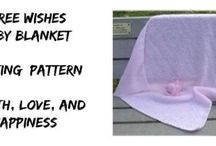 Knitted Patterns - Afghan & Blankets / Knitting patterns for Blankets, throw rugs and afghans. #free Knitting Patterns