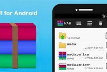 تحميل برنامج فتح الملفات المضغوطة رار للاندرويد  rar for android