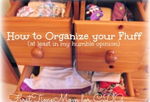 Cloth Diaper Organization / How to keep all those cloth diapers organized? Check out some ideas here and visit us at http://www.organiccaboose.com/.