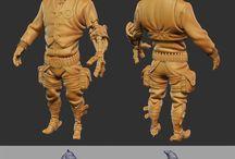 3D Model References