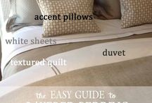Decor Inspiration / Great ideas to make your apartment feel like HOME.