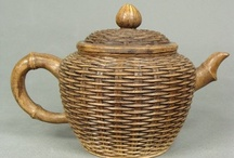 ornamented teapots