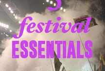 FESTIVAL / Looks//Tips//Products