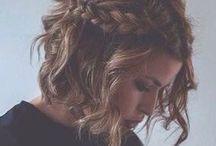 Hairdo / Braid, top knot, hair