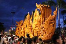 candle procession of Ubon Ratchathani year 2014 / เชิญเที่ยวงานแห่เทียนพรรษาจังหวัดอุบลราชธานีประจำปี 2556 ตั้งแต่ 1 - 31 กรกฎาคม 2557 Invite a candle procession of Ubon Ratchathani year 2014 from 1 to 31 July 2014