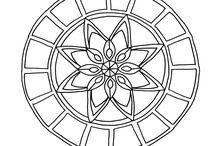 Elaine's Hand Drawn Mandalas