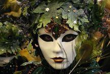 Masques vénitiens / Venise et son carnaval...
