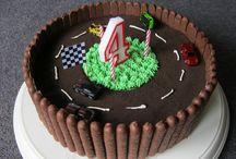 Matchbox birthday cake