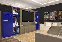 Gargem Happy hour / Com objetivo de integrar ambientes em uma garagem e tornar habitável para receber os amigos em uma social, assistir um jogo de futebol, fazer um esquenta antes da balada. VII Vitre Mostra de Projeto de Design de Interiores Projeto da minha apresentação de final de curso de Designer de Interiores