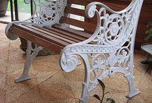 cast iron bench redo