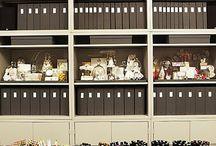 scrap room / craft room organization / by Deborah White