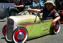 Very cool Peddle cars