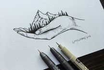 Stippling art/pointillism