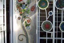Mozaiek buiten