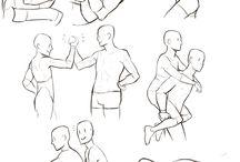 Posing + Reference Sketch