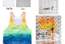 T-shirt crafts