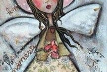 ART paintings angels / angels paintings