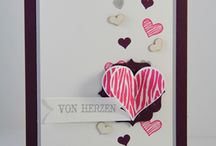 Love cards / Cards for valentines, weddings or just because of Love