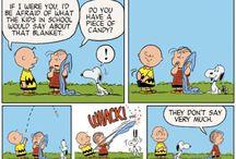 Snoopy /Linus´s blanket