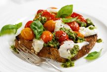 Tomato Recipes / Tomato recipes are perfect any time of the year, but particularly in the summer when you want fresh, light flavours