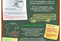 Infographics / by VoucherCodes Canada