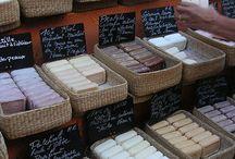 Ručně vyrobená mýdla