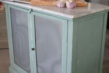 REPAINTED - CUPBOARDS AND CABINETS / by Elisabeth Crowe