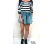High Maxi Skirt