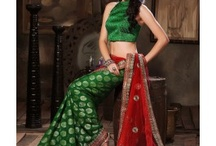 Designer Saree / Pure designer sarees online shopping in many different colors inlcuding pink and designs.Shop now @ http://www.jaipurkurti.com/sarees.html