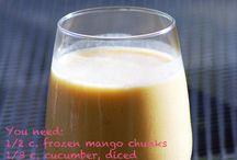 Healthy drinks & snacks / by Stacy Nichol