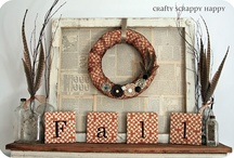 Fall Stuff / All things relating to Fall including decor, activities, crafts, and more!