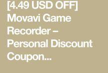 Movavi Game Recorder – Personal