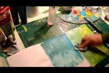 tutorial mixed media art