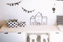 Speelgoed woonkamer