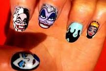 halloween nails polish / pasek intan