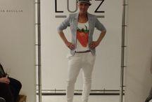 Ik in de modeshow van Puur Lutz