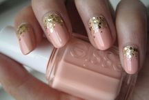 Pink Nails  / You can find matte nails, glossy nails, of different pink colors and designs here.