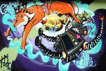 Street-Art / 8 jeunes de 15 à 20 ans ont participé à un workshop Street-Art. Découvrez leurs œuvres ! / by BIL Banque Internationale à Luxembourg