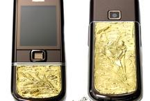 www.jesusdi.it / Cellulare in oro realizzato artigianalmente Mobile gold handcrafted