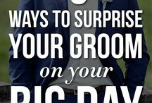 For your man / Surprises & other fun stuff for the groom.