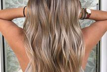 Höst/vinter hår