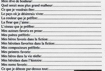 questionnaire Proust